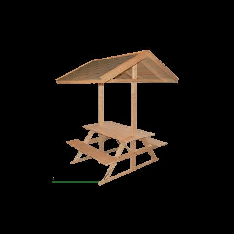 Arsi Piknikulaud katusega